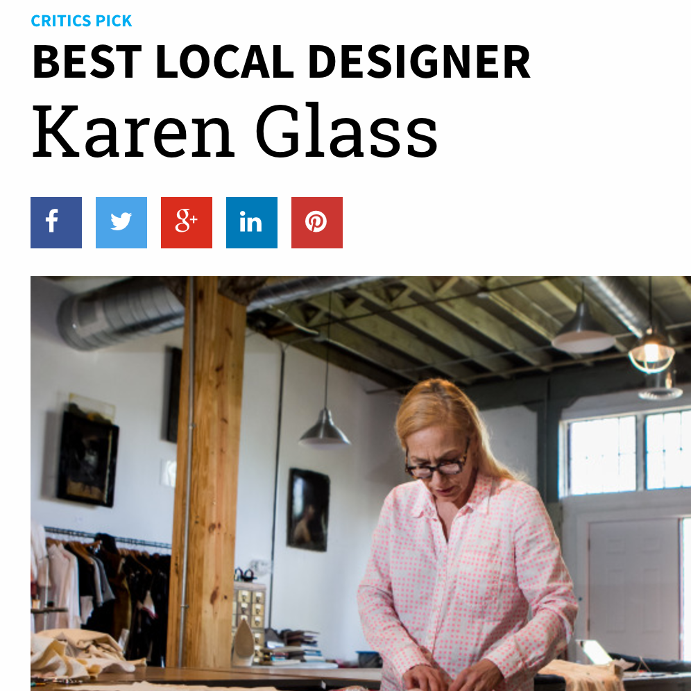 Creative Loafing Best Local Designer of the Year