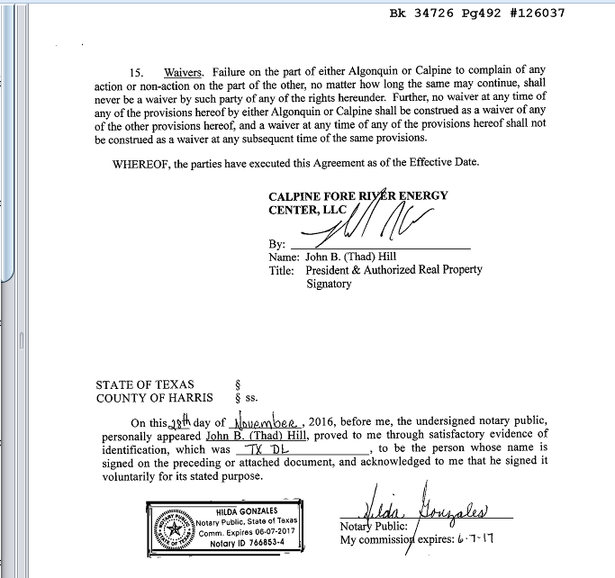 Easement Agreement p.6