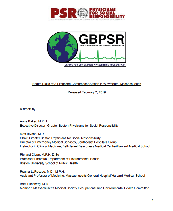 GBPSR Report on HIA 2019