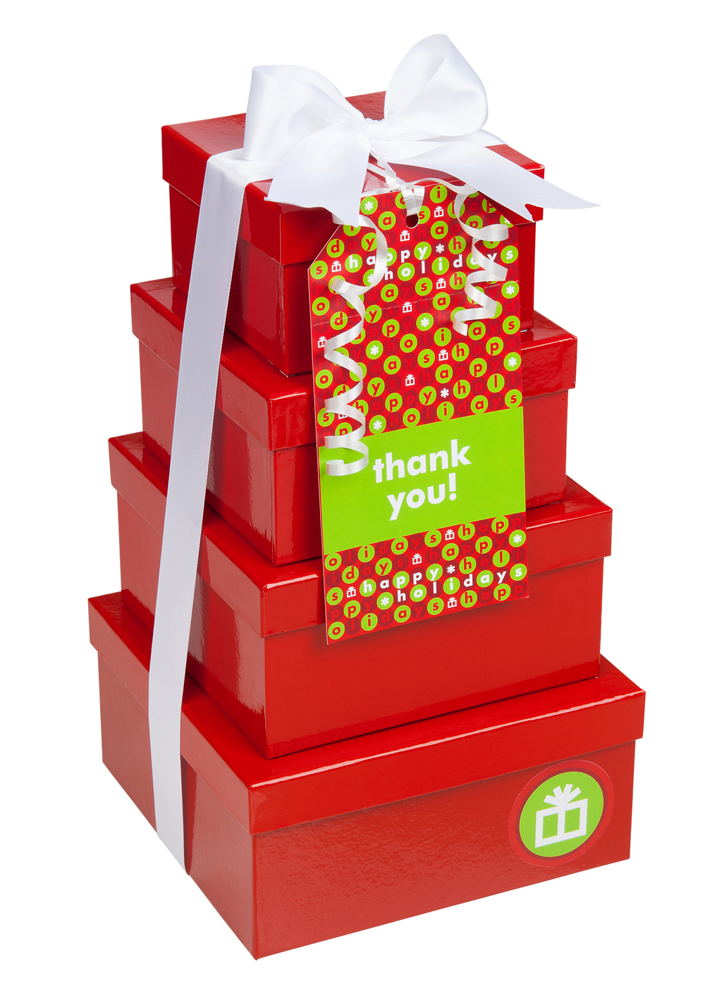 Red Gift Tower
