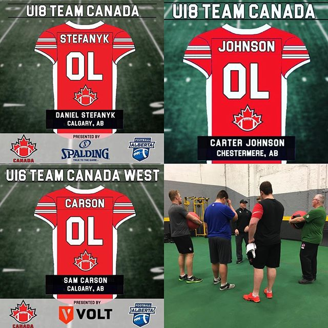 Looking forward to cheering on our football athletes in Texas next week as they represent our great country of Canada!!! #football #canada #athlete #athletic #sports  #nextlevel #speed #agility #dontskipthework #myboys