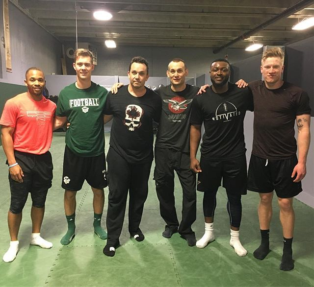 Our U-Sport / Pro Football program stepped away from the turf and the weights and spent time with @cardinalmma this am!!! Incredible time, incredible teacher!!! #football #sports #sport #jujitsu #crosstraining #yyc #yycfit #yycfitness #fitness #coach #total #athlete #development #nextlevel