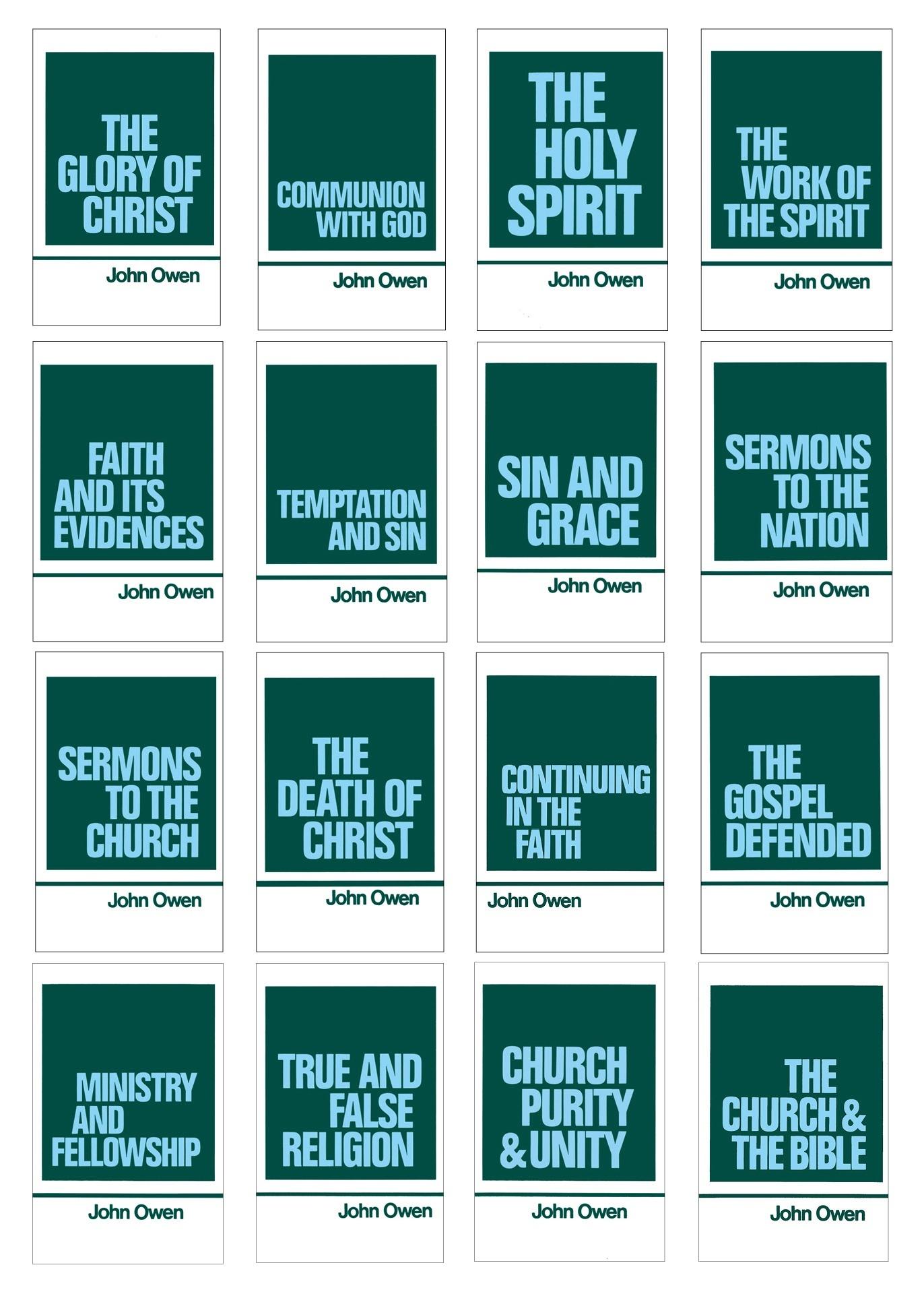 Image Credit: Banner of Truth Works of John Owen