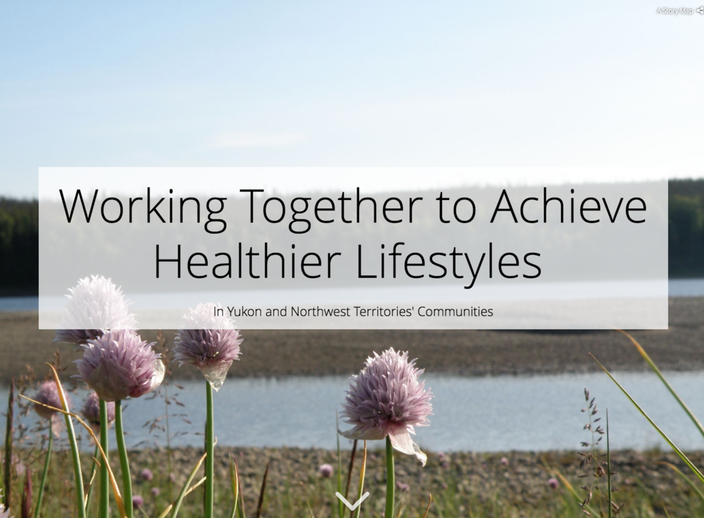 Check out  our story map of the Working Together to Achieve Healthier Lifestyles in Yukon and Northwest Territories' Communities project (2013-2018). This story tells of the some of the food security and healthy living initiatives that AICBR and its partners have been involved in over the last five years -  https://arcg.is/vyqWH