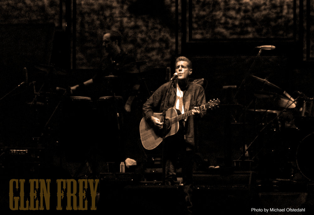 Glen Frey Rexall Place during the history of the Eagles tour