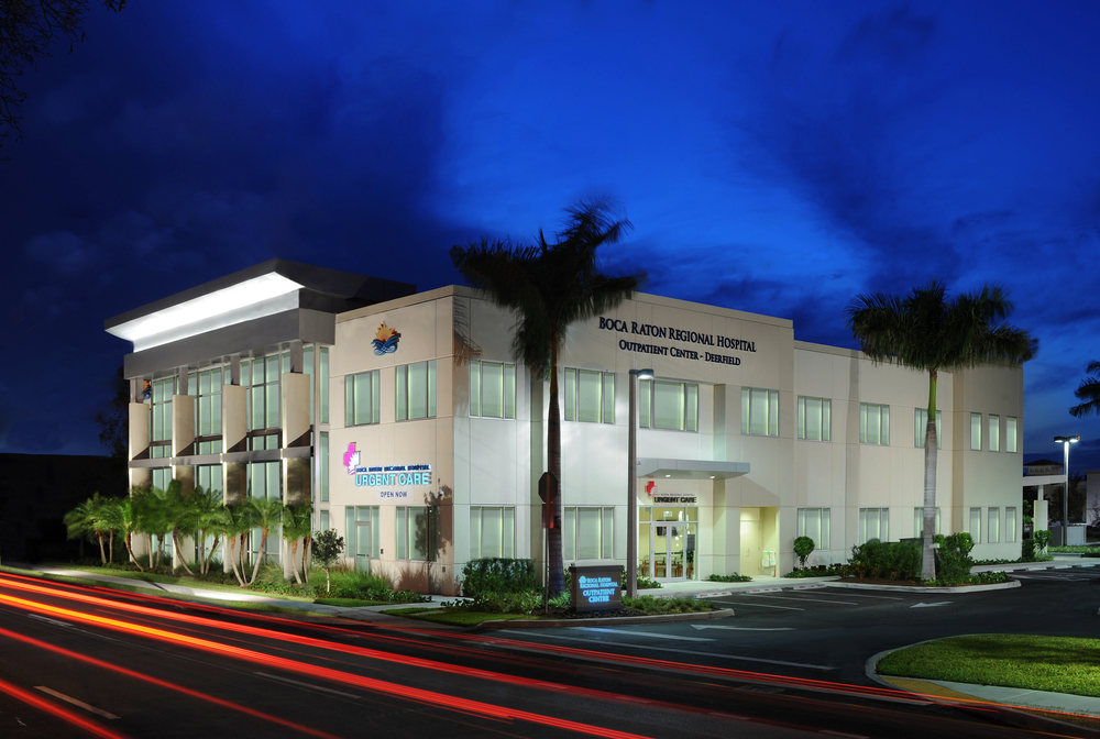 Boca Raton Regional Hospital  Ambulatory Care Center  Deerfield Beach, FL - 25,000 SF