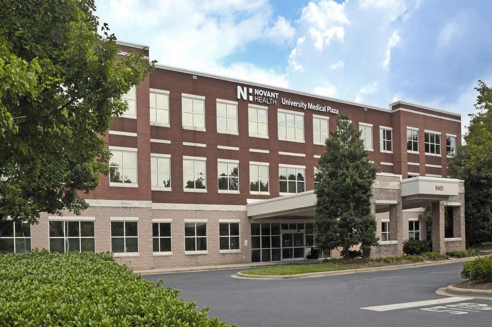 Novant University Medical Plaza  Medical Office Building  Charlotte, NC - 66,100 SF