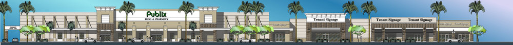 Rendering of Delray Square Shopping Center