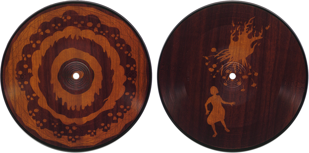"Passion Pirates & Parasites . 7"" picture disc released on  Synesthetic Recordings , 2002."