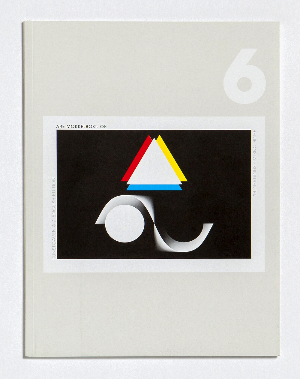 Catalog from the show, which was part of a series of shows funded by Sparebankstiftelsen. Design by Peder Bernhardt.
