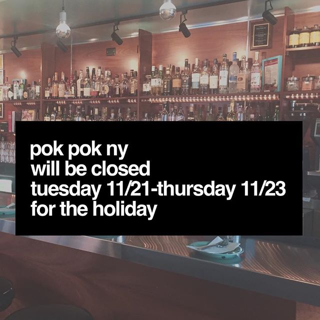 See you on Friday for our 5 year anniversary @pokpokny 🎉