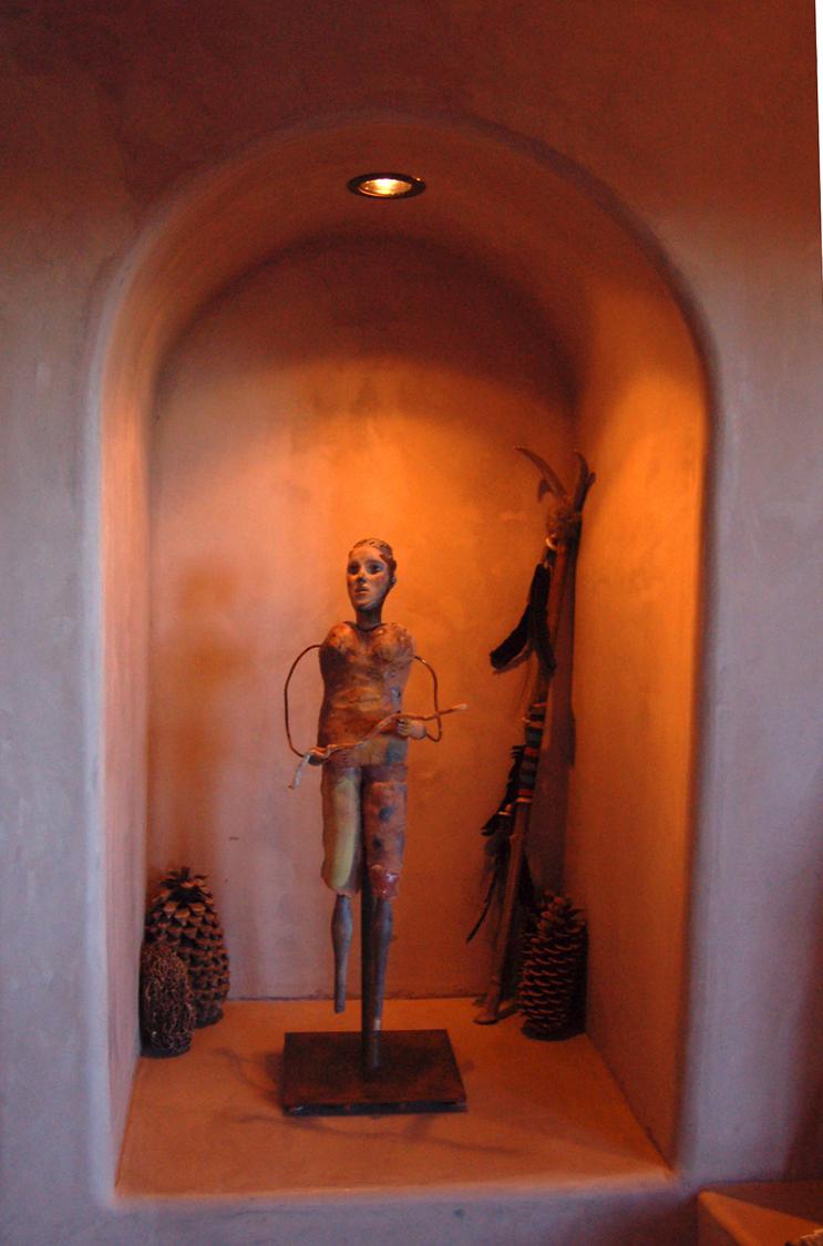"""""""Walking Man"""" (In Santa Fe)"""