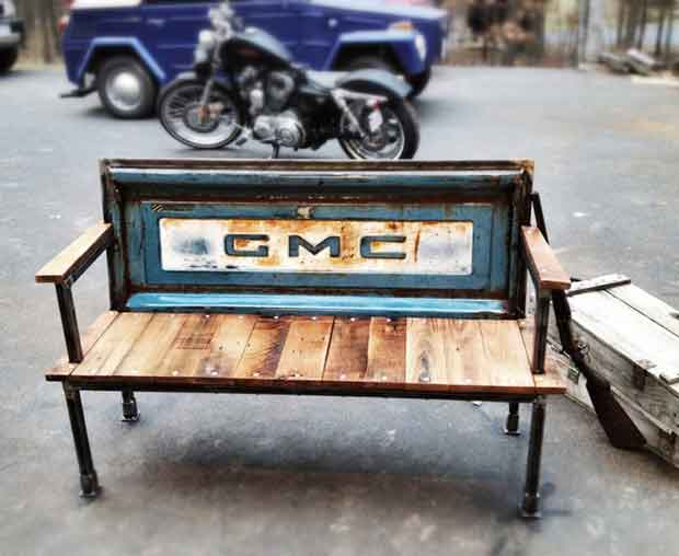 GMC Tailgate Bench