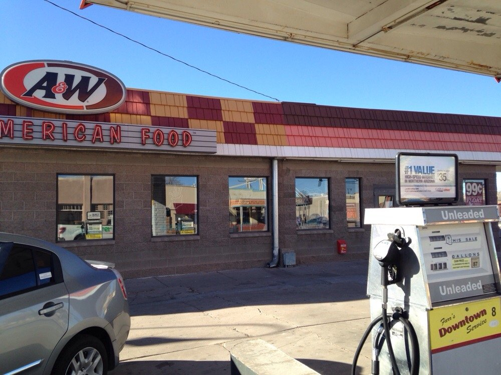A&W Holbrook Arizona
