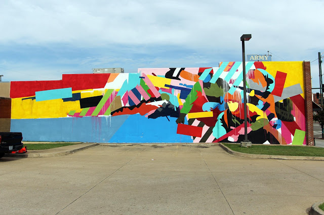 Artist: Maser . Location: 1004 Garrison Avenue Fort Smith, Arkansas . (Photo: Rom Levy)