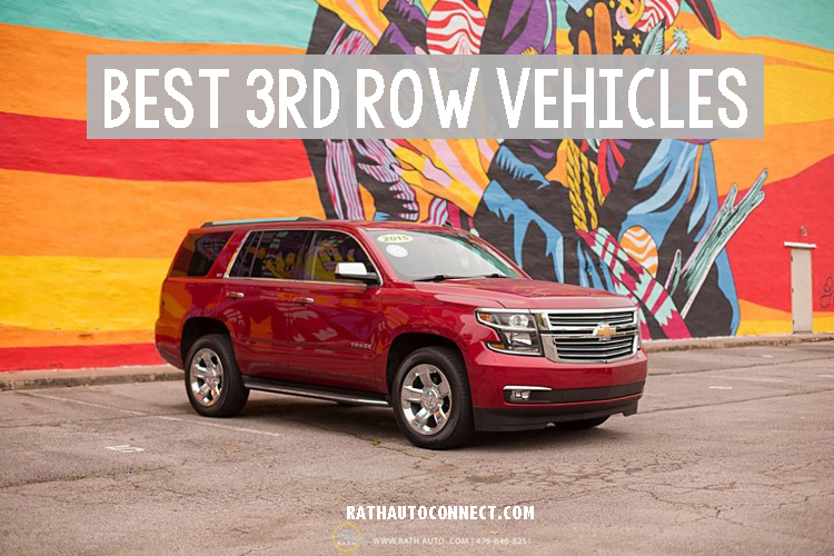 Best Vehicles with 3rd Row Seating Fort Smith, Arkansas Rath Auto Resources