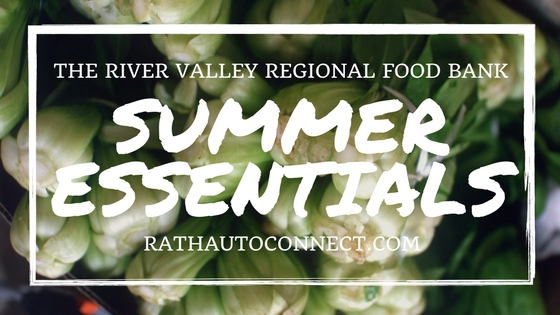 River Valley Regional Food Bank Summer Essentials