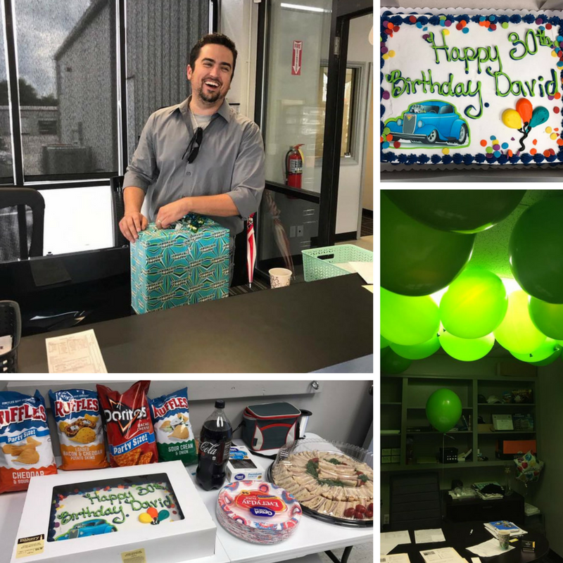 David Rath 30th birthday Rath Auto Resources