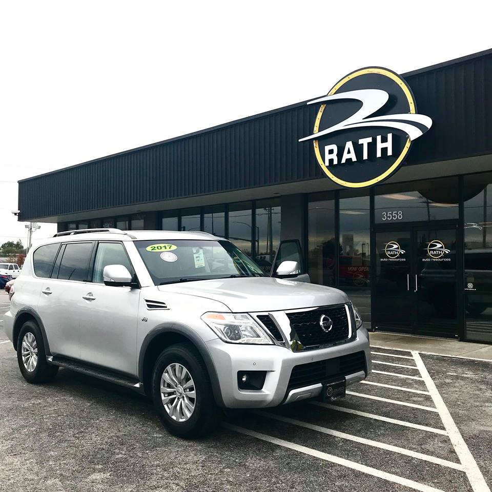 2016 Nissan Armada Rath Auto Resources Springdale Arkansas