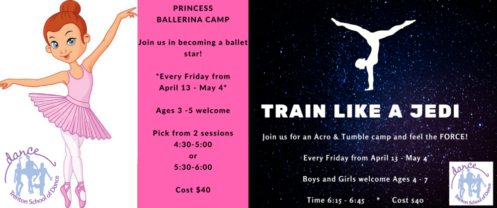 Spring 2018 Dance Camps