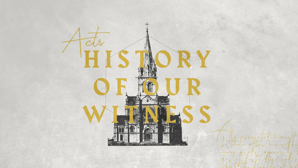 Acts 5:12-42    Nov. 17th 2018