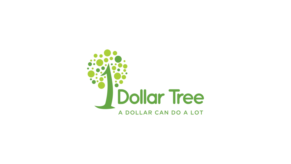Redesigned logo for Dollar Tree as developed by Creative Team