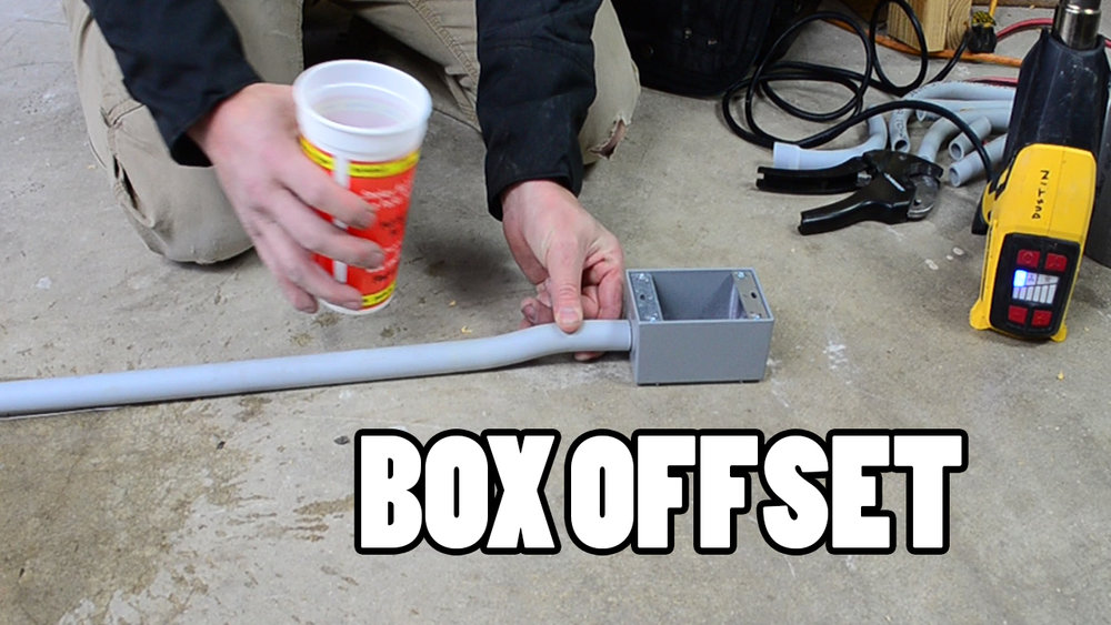 heating-and-bending-a-box-offset-in-pvc-conduit