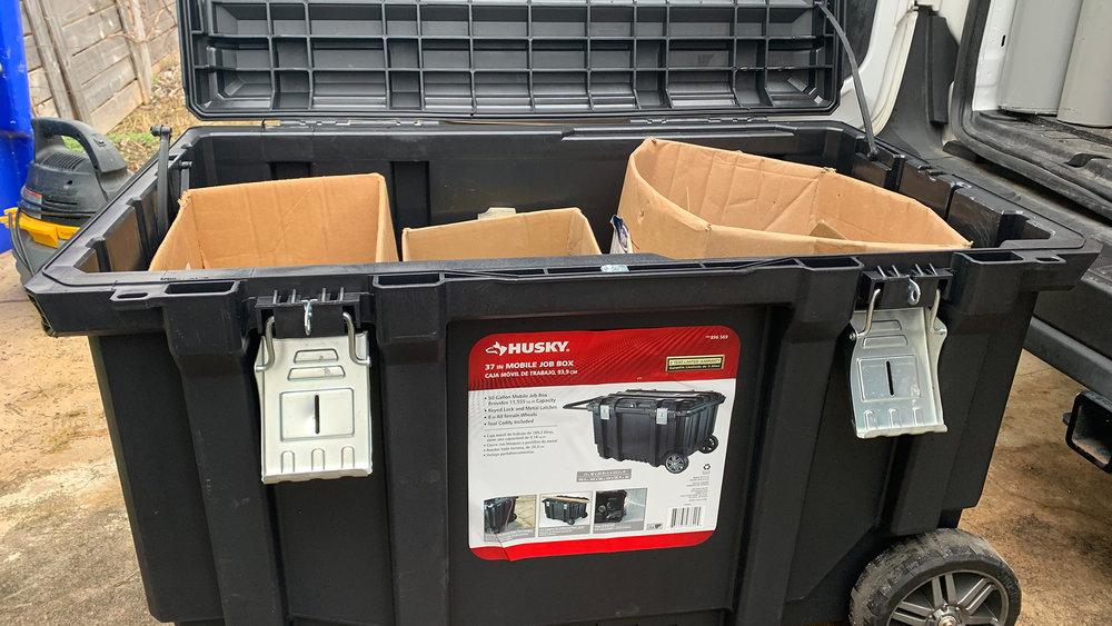 Husky 37-inch-Rolling-Portable-Job Box-Tool-Box