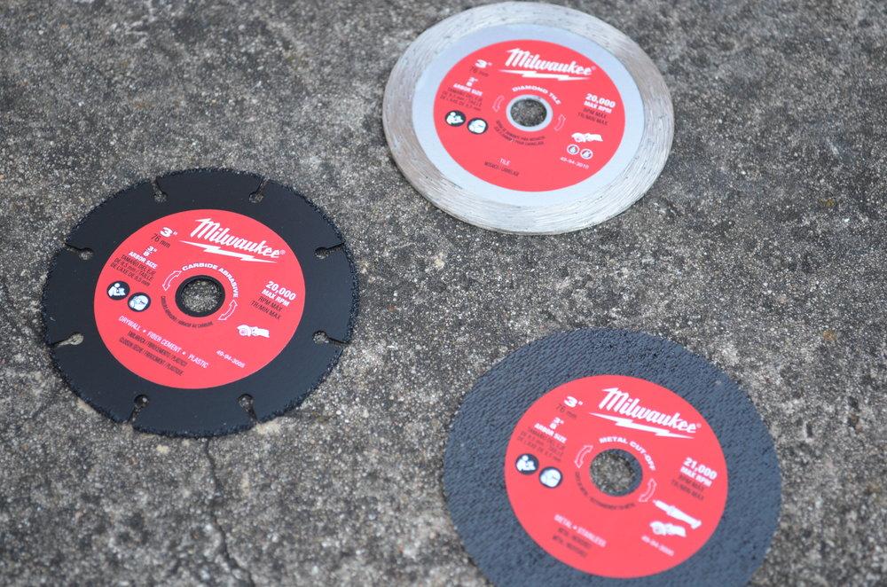 Milwaukee-cutoff-tool-assorted-blades-wheels
