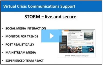STORM media simulation