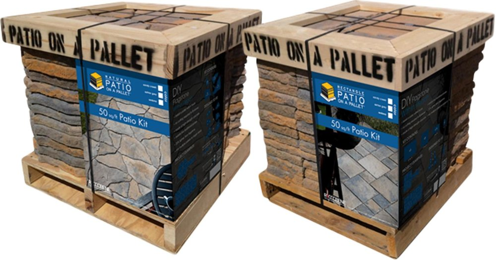 PATIO ON A PALLET