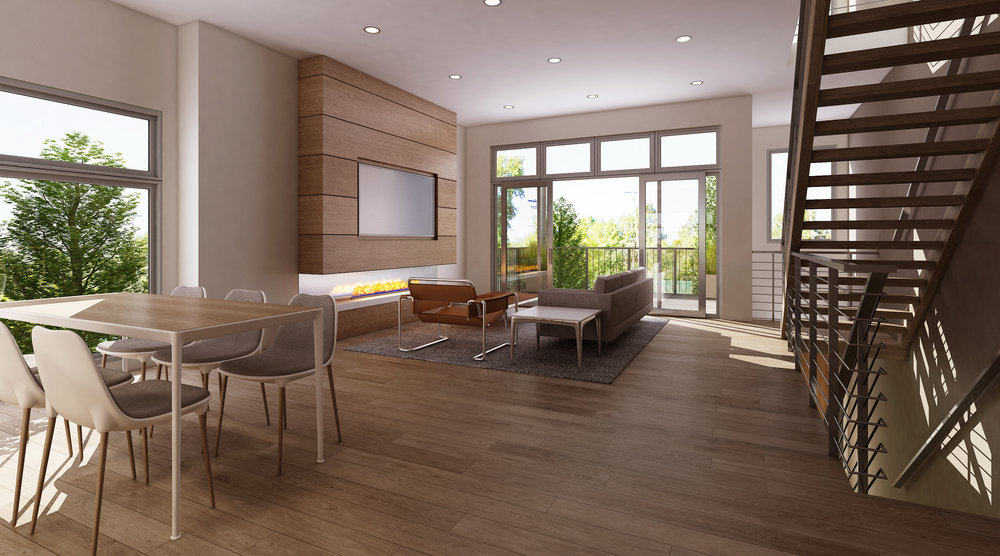 Duck Island 7 Living Room