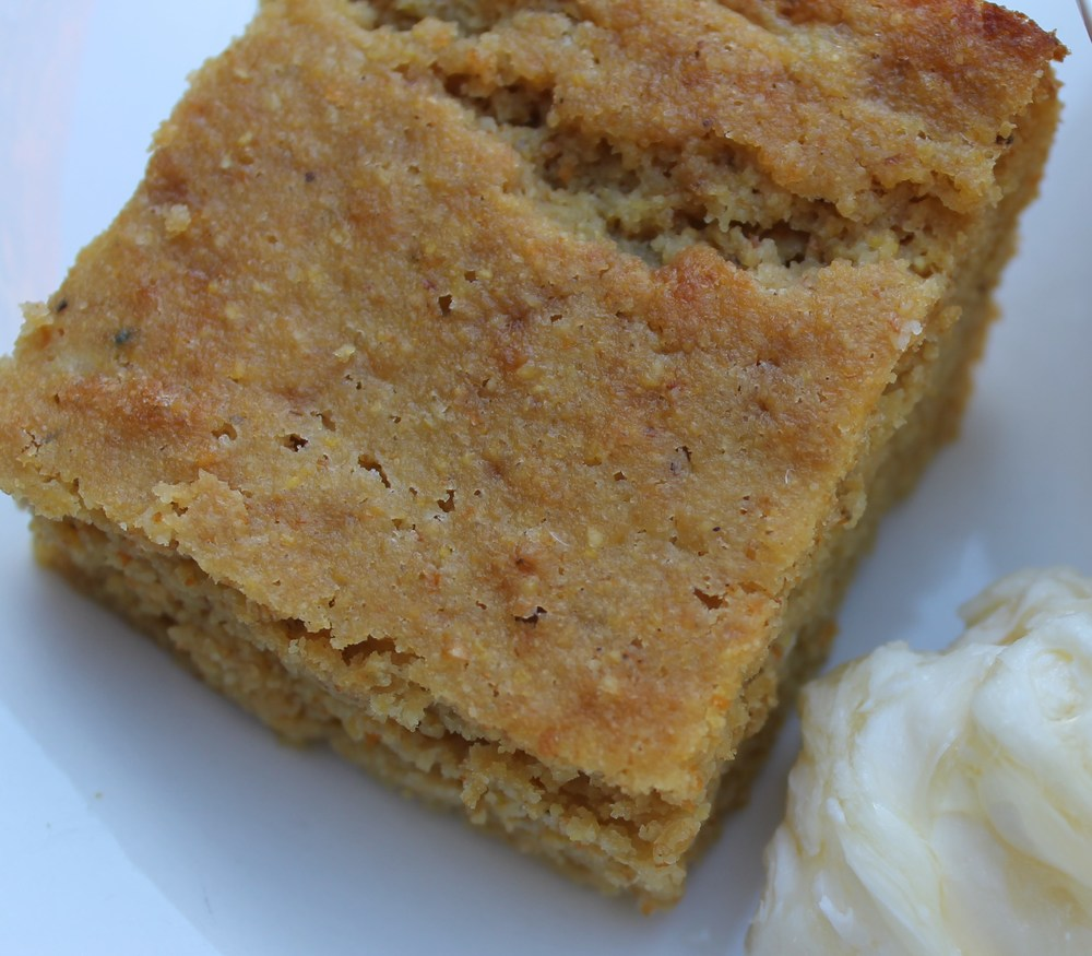 coconut flour sprouted corn bread piece.jpg