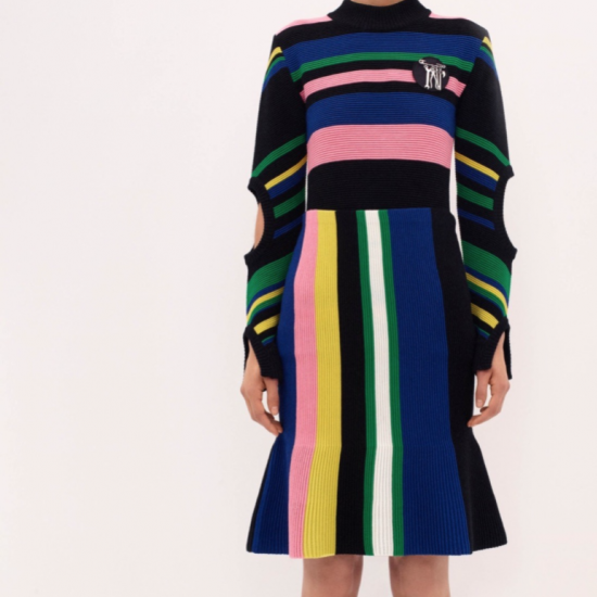 J.W. Anderson Resort 16Wonderland Magazine - Space age motifs and frills Austin Powers would be jealous of: J.W. Anderson drops his Resort 2016 line of playful prints and swirling silhouettes.
