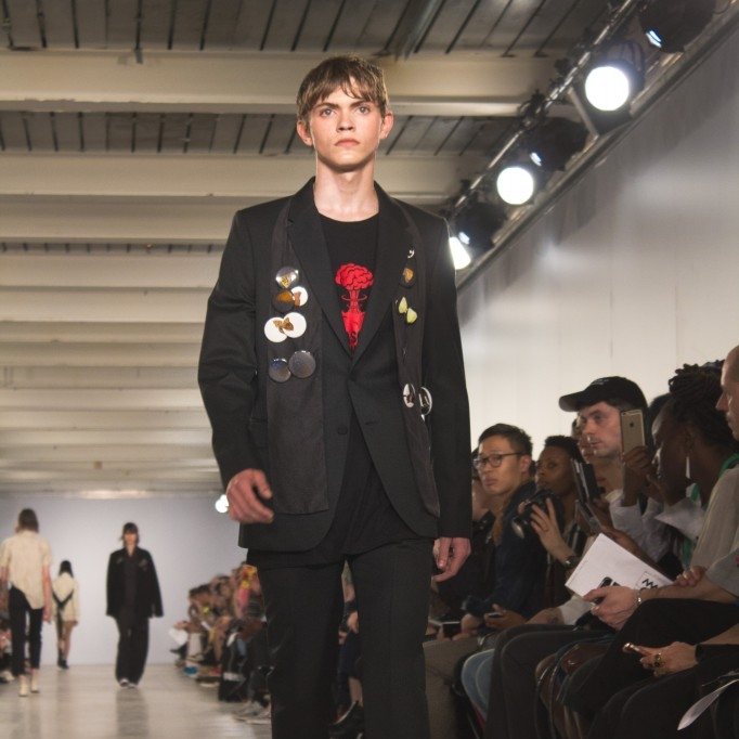 LCM: Matthew MillerSpindle Magazine - Matthew Miller's SS17 collection is given the name 'Tempest', and first thoughts associated with the name conjure memories of William Shakespeare's well known play in which the turning weather plays a significant role.