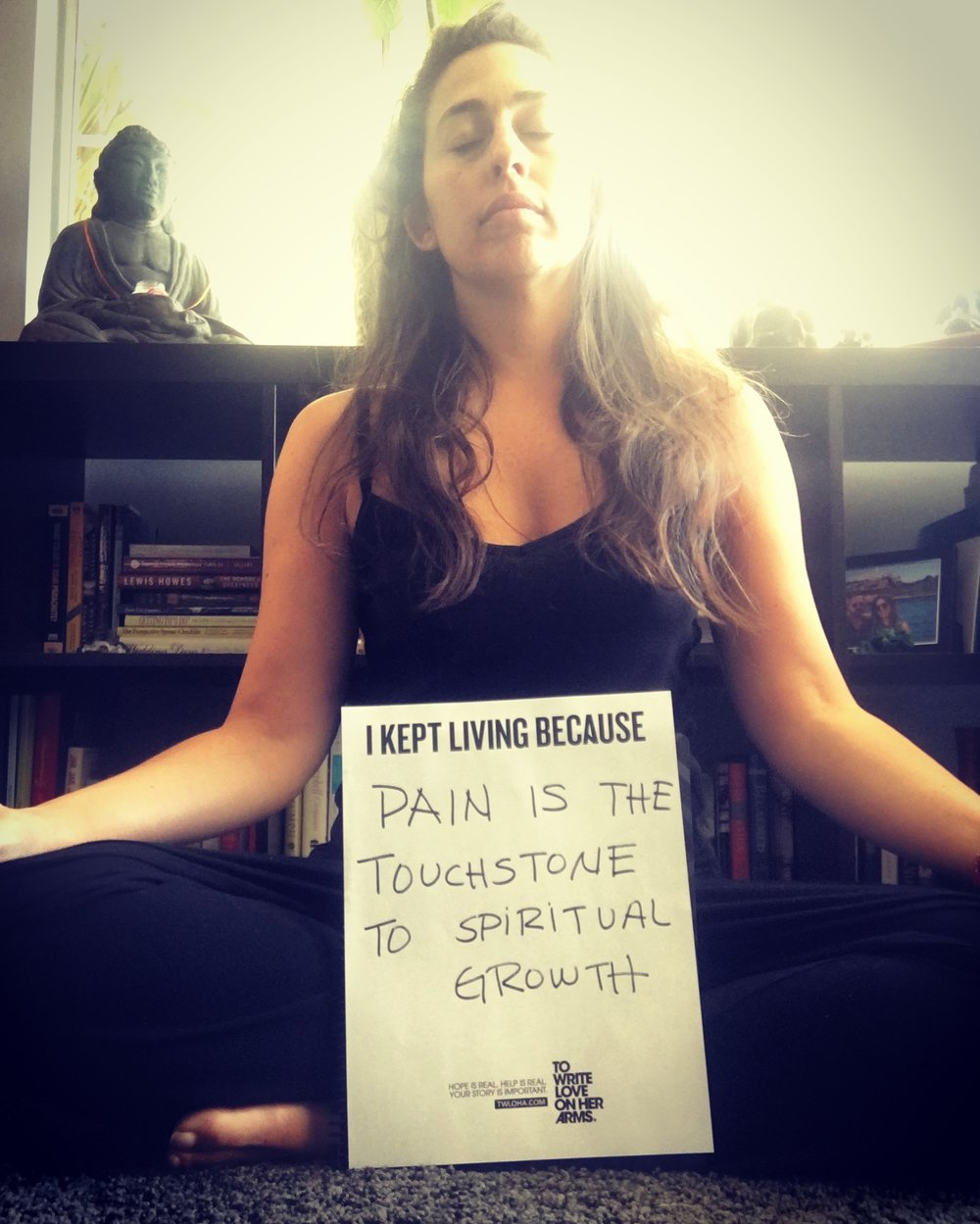 Joining hundreds on Instagram this week in support of suicide prevention. #TWLOHA.