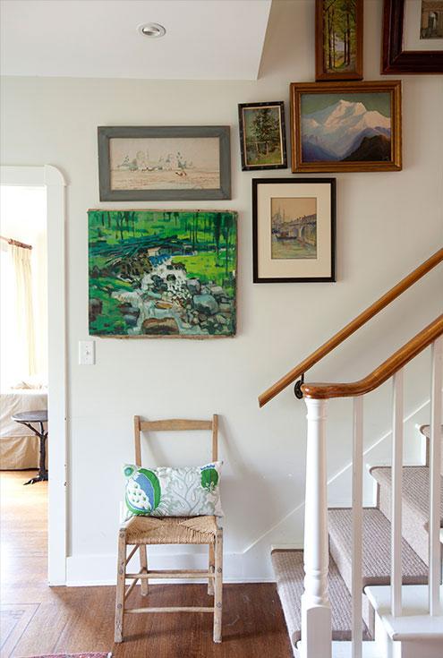 An Artist's Home -Elm street