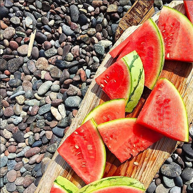 Does it get fresher than this? 🍉 #summervibes #repost @rebecca.lapres #RiescoLapresLifestyle