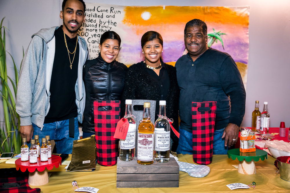 This family has been in the rum-making business for 200 years! I was focused on covering the event, so I didn't sample the punch they had, but I WILL be seeking these people out.