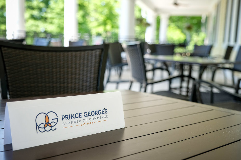 Prince George's County Chamber of Commerce. Come join us. We saved you a seat at the table.