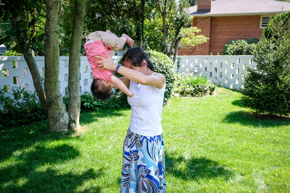 The Mommy Dismount!