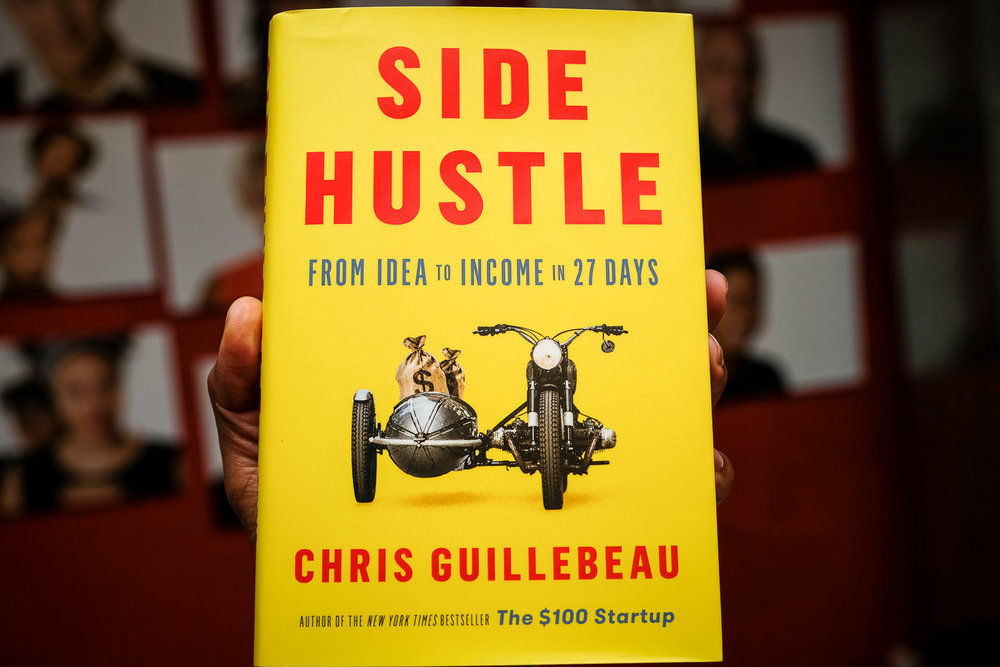 Check out Side Hustle! - If you find you enjoy the Side Hustle School podcast and want more guidance on how to turn your idea into revenue, check out the book.
