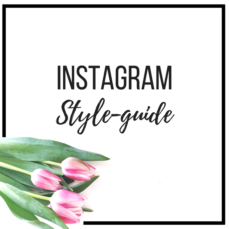 Instagram Style-guide