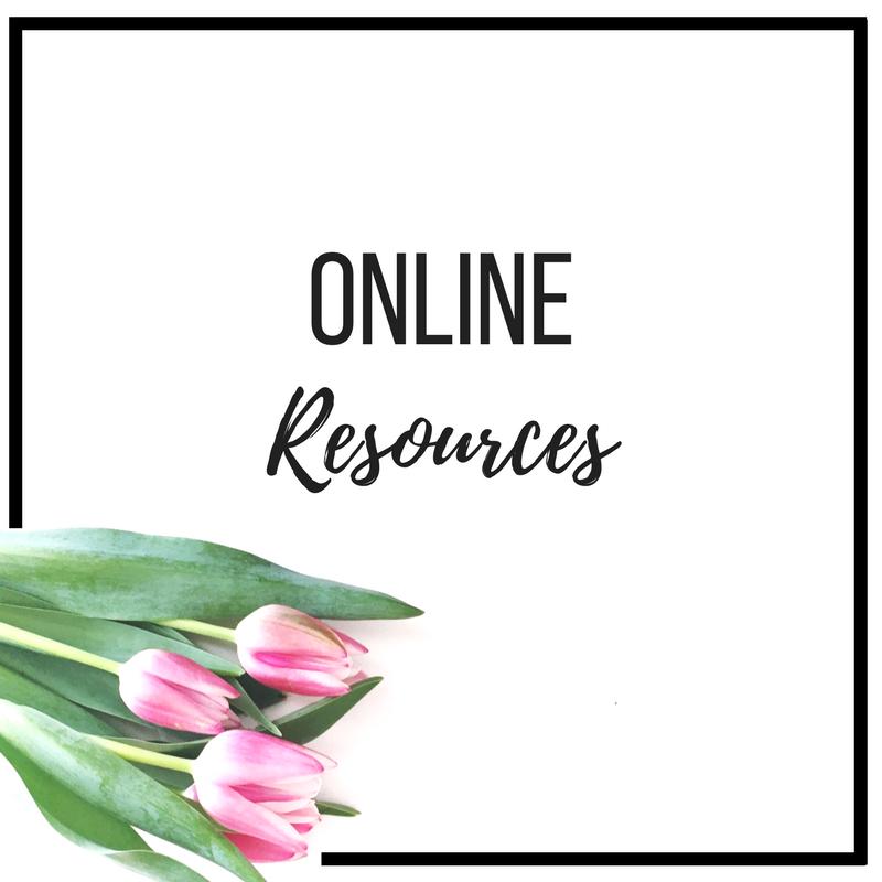 Online Resources: Apps, Websites etc.
