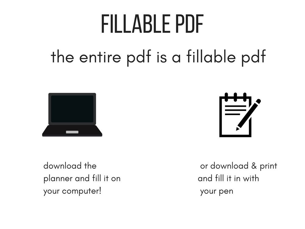 FILLABLE PDF CALENDAR 2018