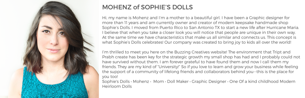 Community Member Mohenz of Sophie's Dolls