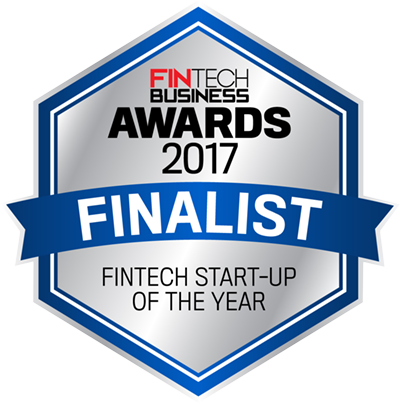 FinTech Business Awards 2017 Finalist - Fintech start-up of the year