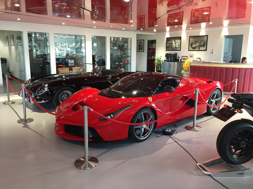 LaFerrari and the Ferrari 250 California Spider