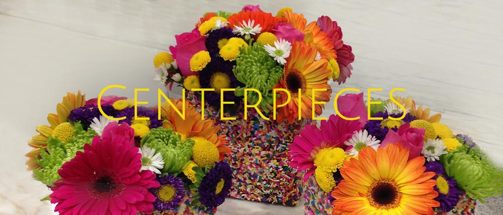 Custom Centerpieces for Parties, Celebrations, Weddings