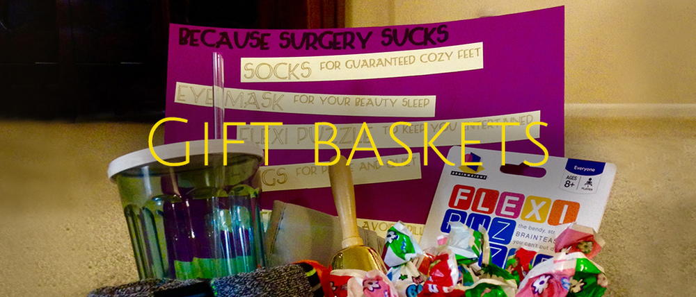 Personalized Gift Baskets for Out of Towners and Party Guests